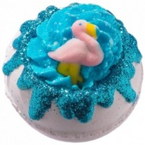 "Boule de bain ""Flamants roses"""