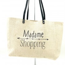 "Sac Mademoiselle ""Madame Shopping"""