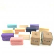 """Lot de 10 savons """"Fleuris"""" et Cubes traditionnels"""