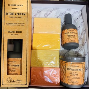 Coffret orange épicée