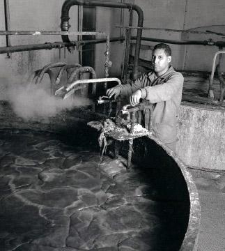 Fabrication savon de Marseille - cuisson