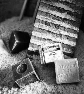 Fabrication savon de Marseille - chaudron