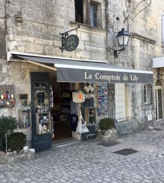 La Boutique LE COMPTOIR DE LILY au Baux de Provence